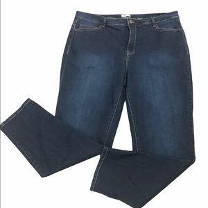Kensie Plus Skinny Jeans, size 18